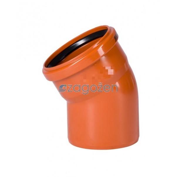 PVC KOLENO 125/30 UK