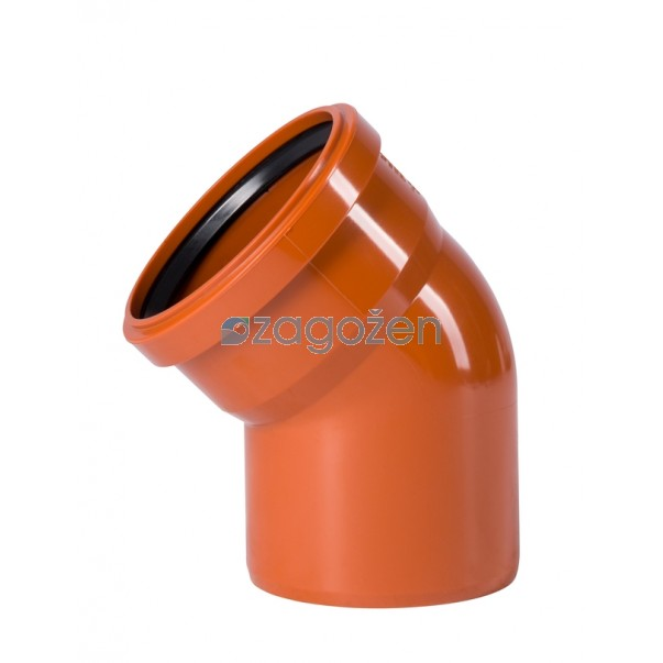PVC KOLENO 250/45 UK