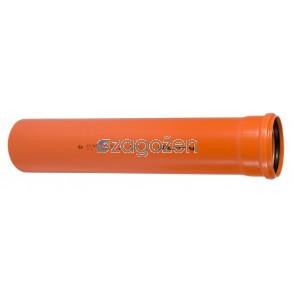 CEV PVC-UK  110 X 2 M  SN 4 KOEKS