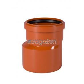 PVC PREHODNI KOS  125/160 UK
