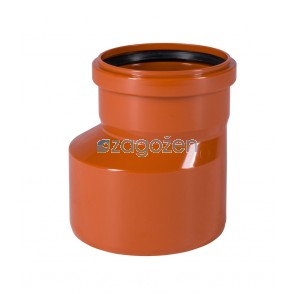 PVC PREHODNI KOS  125/200 UK