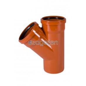 PVC T KOS  250/125/45 UK