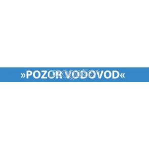 OPOZORILNI TRAK  VODA-INDIKATOR (kolut 250m)